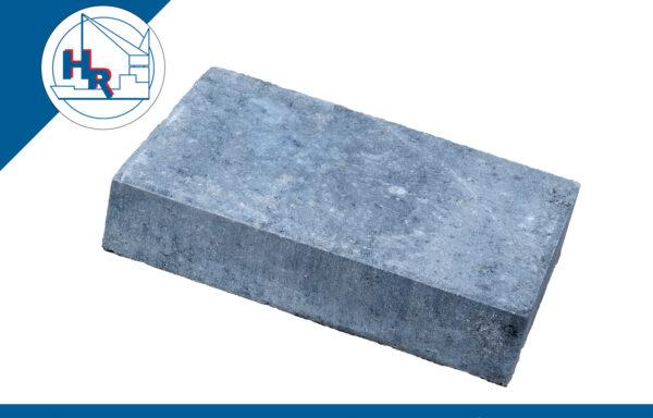 Straksteen 30x20x6 cm grijs-zwart