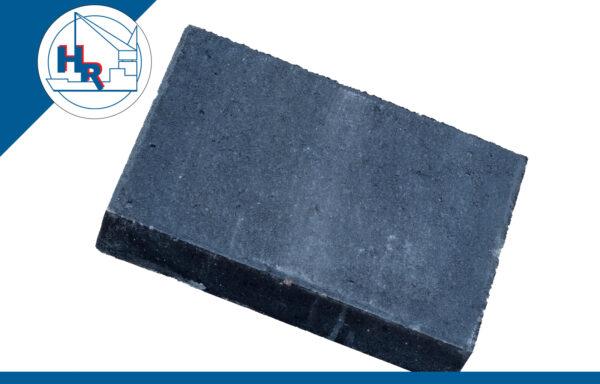 Straksteen 30x20x6 cm zwart