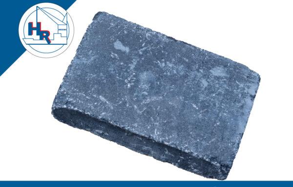 Trommelsteen 30x20x6 cm zwart